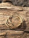 Round Wire Brass  Cuff