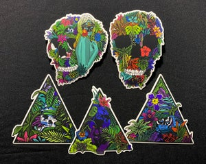 Image of Sinister Jungle sticker pack