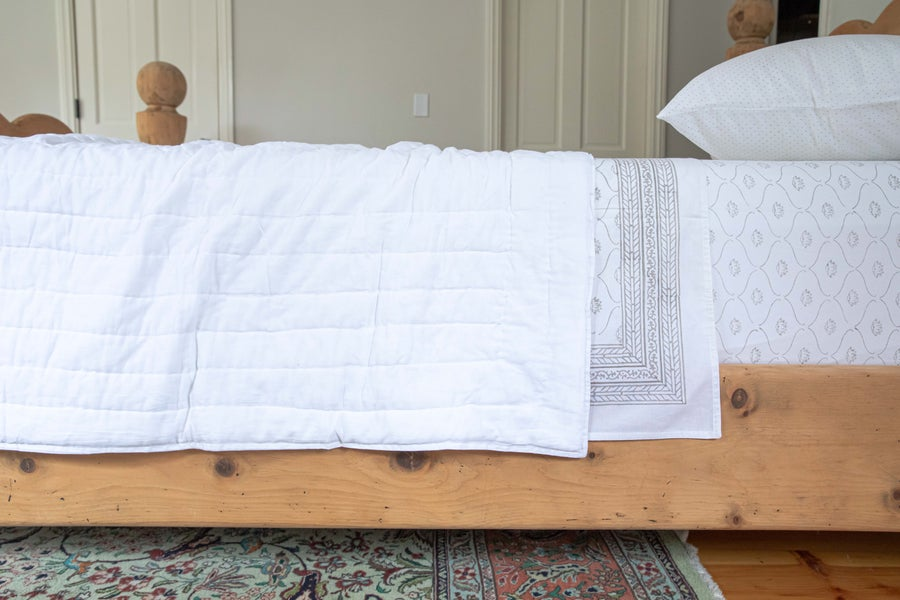 Image of White Quilt