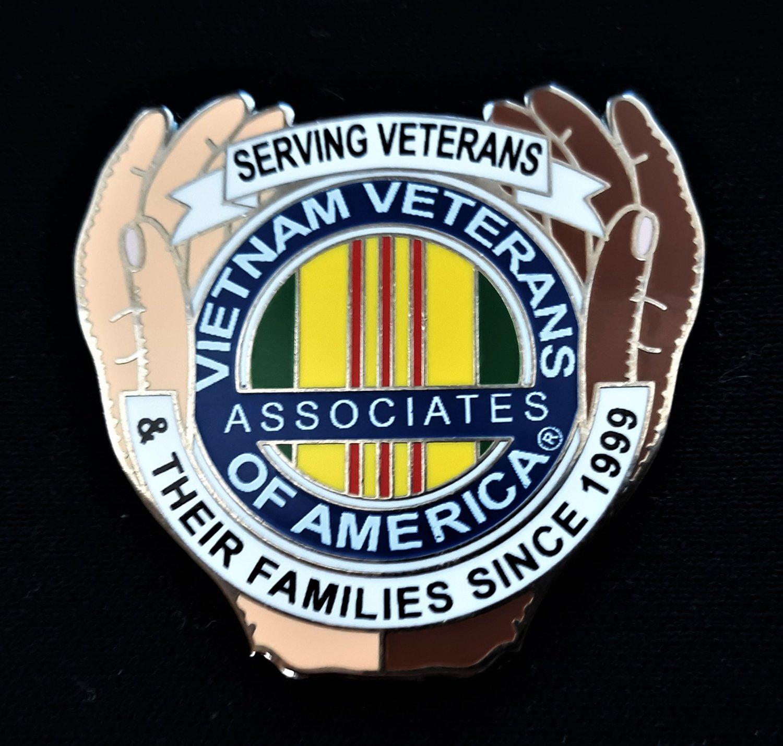 Image of AVVA New Logo pin