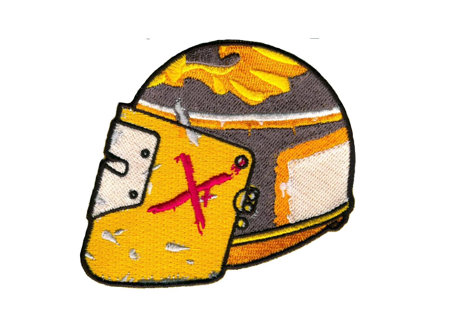 Image of Darkness Maska Helmet Patch