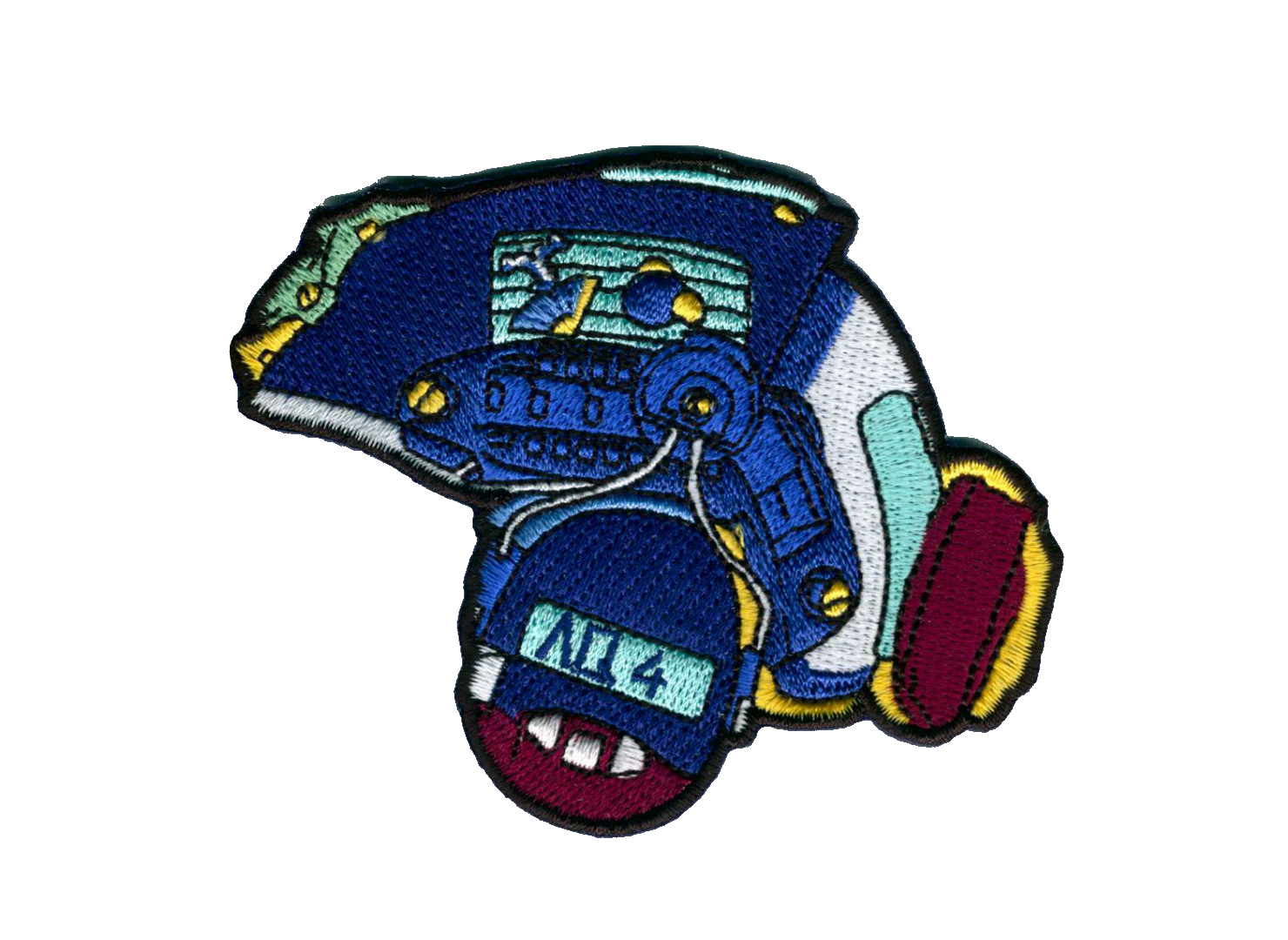 Image of Aqua Tactical Helmet Patch Preorder