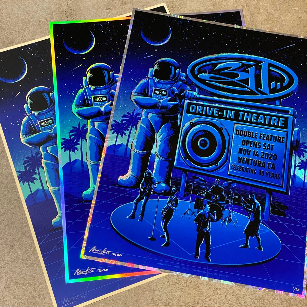 Image of 311 Ventura CA Drive-In Posters