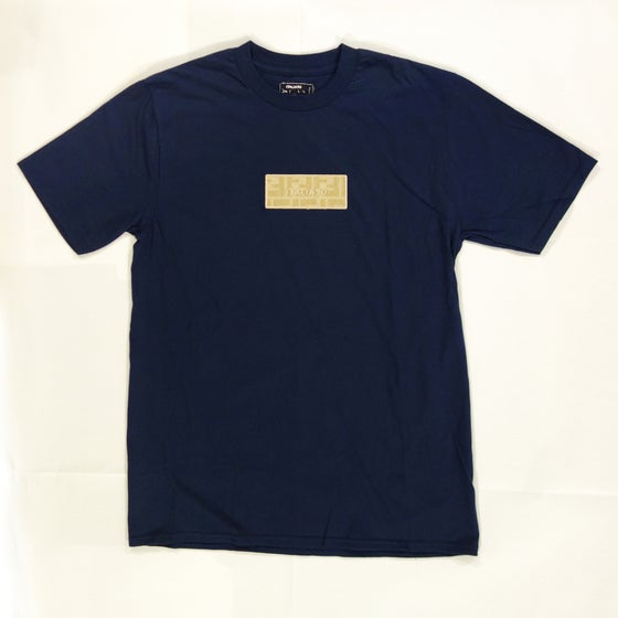 Image of Box Logo Custom T-Shirt (Beige Fendi)