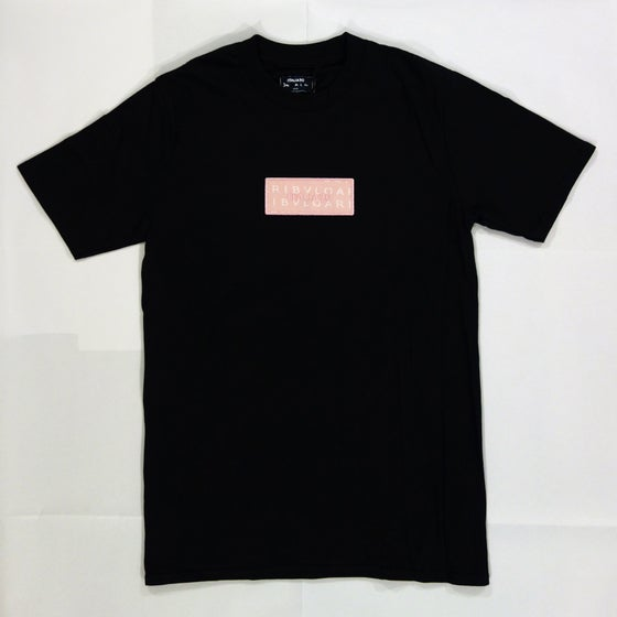Image of Box Logo Custom T-Shirt (Pink Bvlgari)