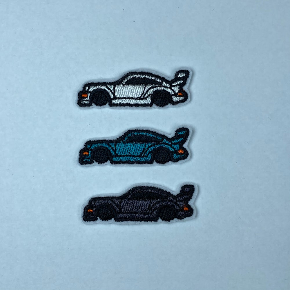 Image of 964 RWB 3-pack iron-on patch