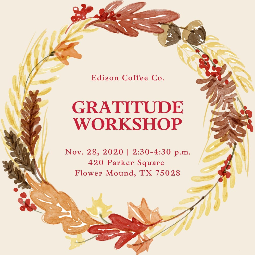 Image of Gratitude Workshop