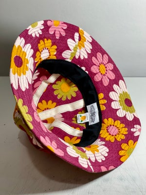 Image of Maroon flowers oversized bucket