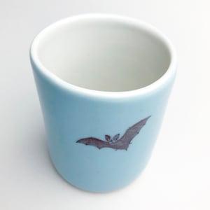 Image of 10oz tumbler with bat, ocean