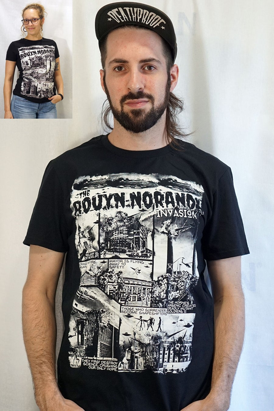 Image of Rouyn-Noranda Invasion / T-shirt Homme&Femme
