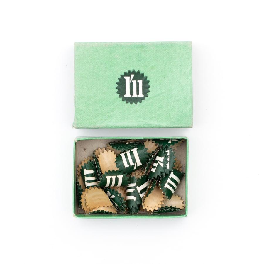 Image of Green Price Label Box