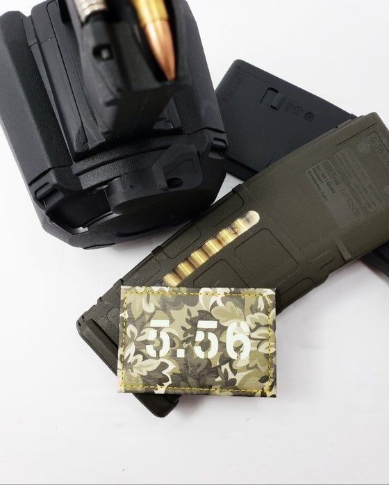 Image of 556 laser cut gitd ammo patch