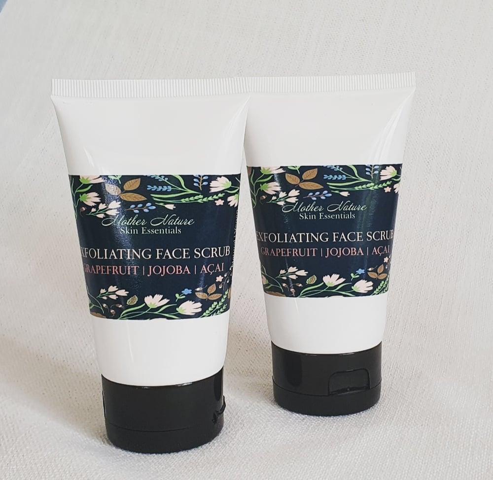 Image of  Grapefruit, Jojoba & ACAI Berry Exfoliating Face Cleanser | Natural Face Scrub