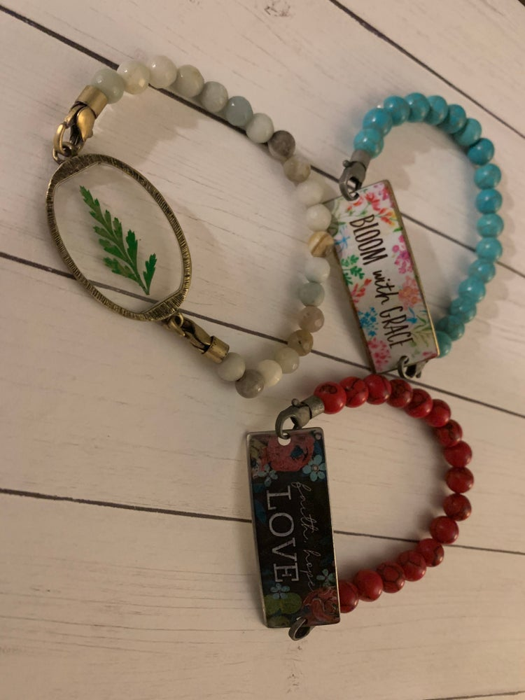 Image of Good vibes bracelet collection - sold seperately