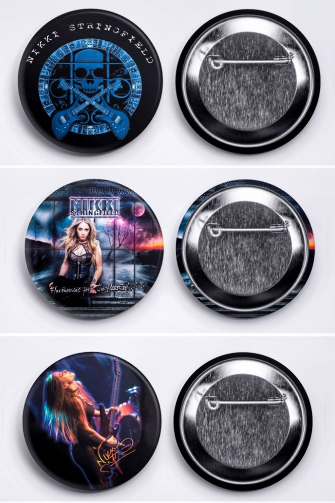 Image of Nikki Stringfield Button Pack