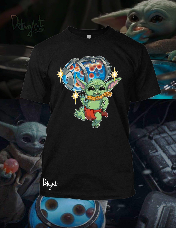 Baby Yoda Menehune T-shirt (Black)