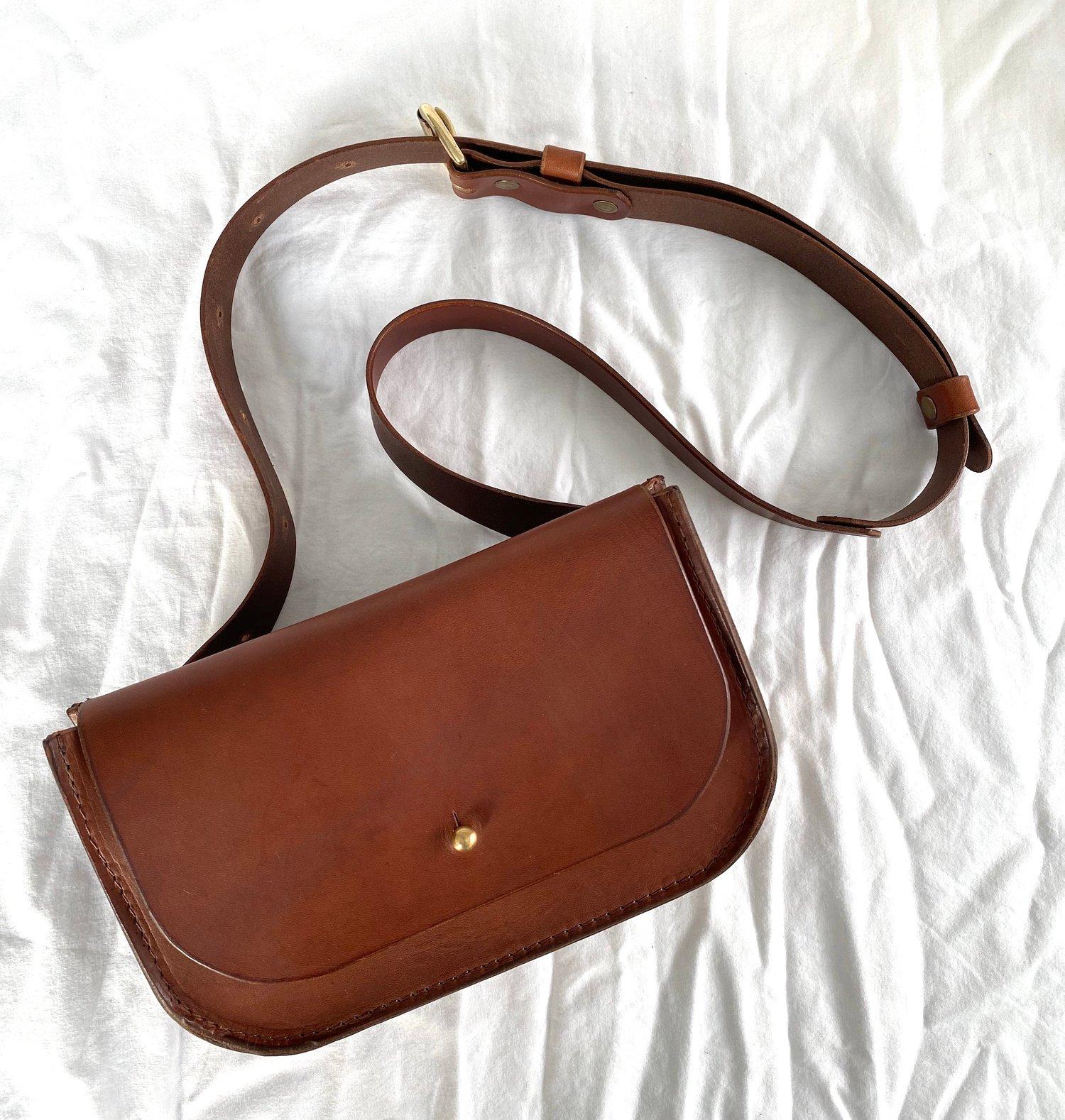 Image of Chestnut Brown Belt Bag