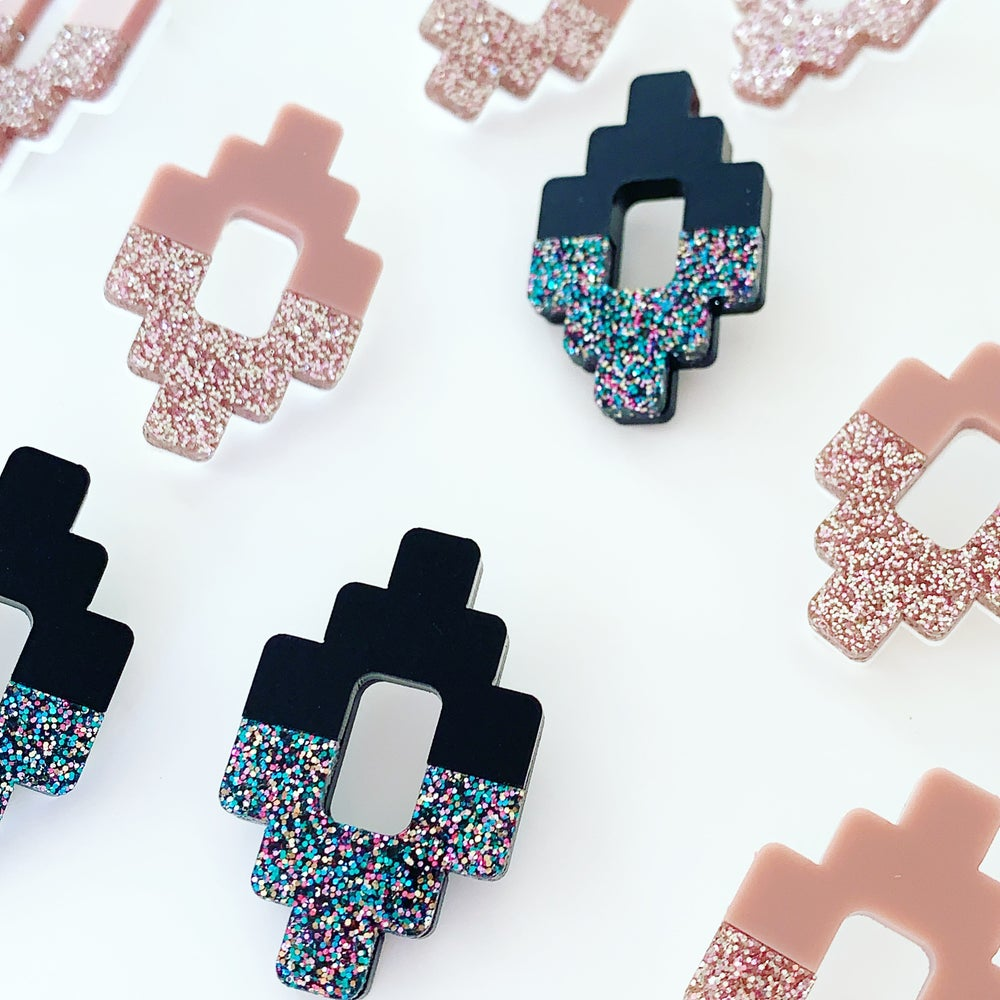 Image of Art Deco Statement Studs