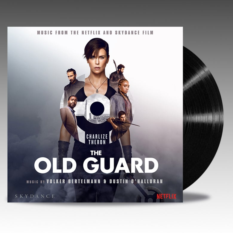 Image of The Old Guard Original Soundtrack -  'Black Vinyl' - Dustin O'Halloran and Volker Bertelmann