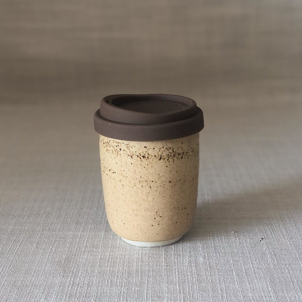 Image of EARTHY ORANGE TALL TRAVEL CUP