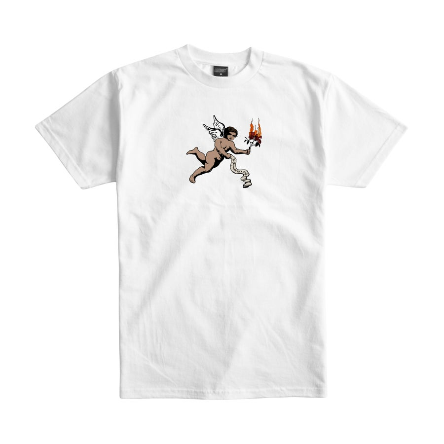 Image of No Sympathy For A Fool Tee (White)