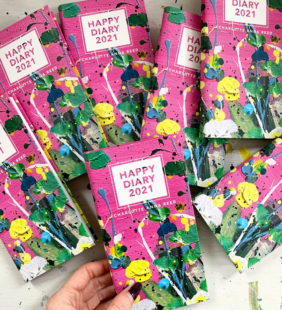 Image of BACK IN STOCK!! HAPPY DIARY 2021