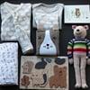 Woodland Animals Organic Baby Gift Box