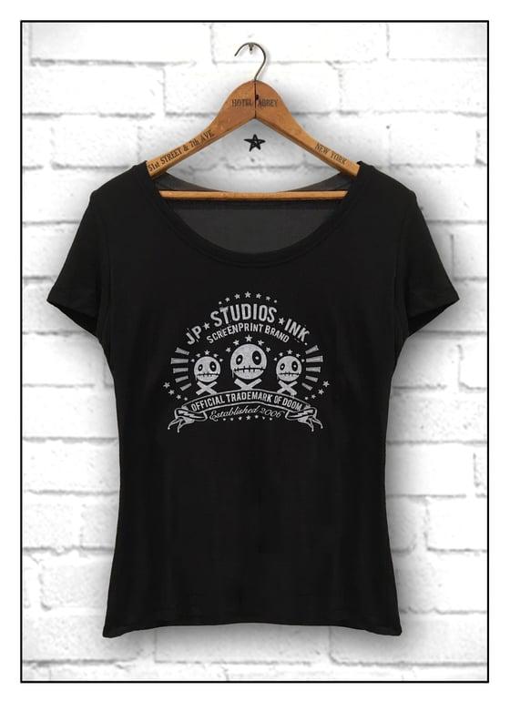 Image of JP Studios Ink Tee Shirt - WOMENS