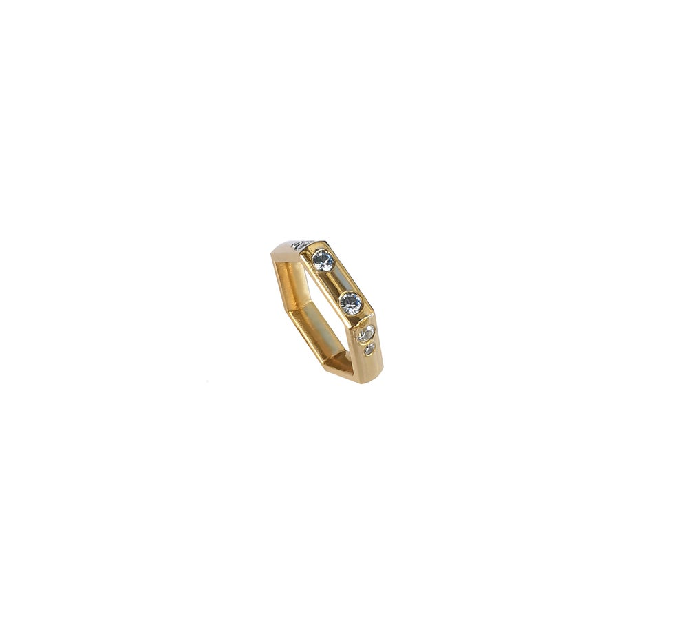 Image of Adelaide Cut ring 14ktY