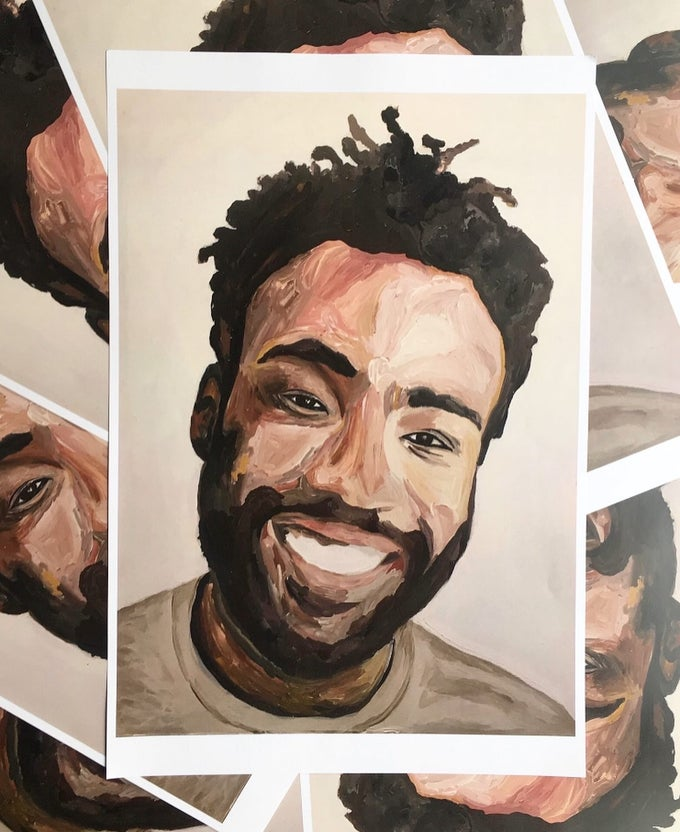 Image of Donald Glover Print