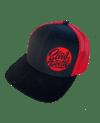 Slowdown Trucker Hat Red and Black