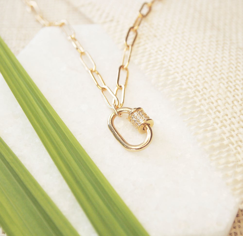 Image of Carabiner Necklace