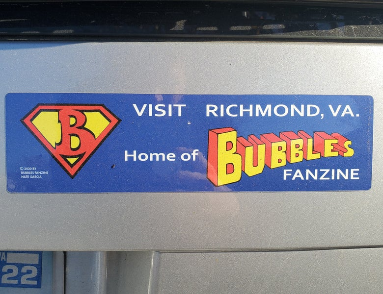 Image of Bubbles Bumper Sticker