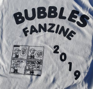 Image of Bubbles Fanzine Shirt