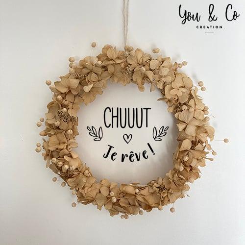 """Image of Sticker """"CHUUUT je rêve !"""""""