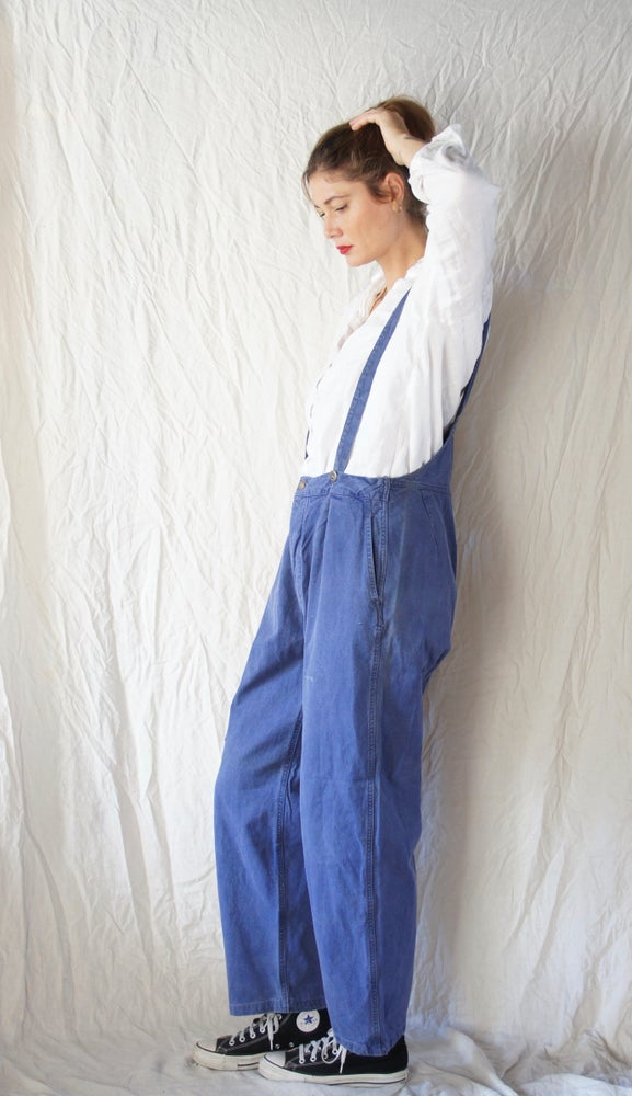 Image of French workwear Overalls- high back
