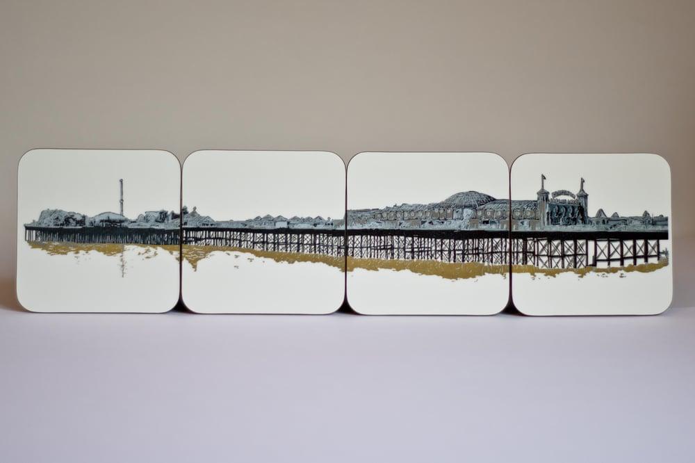 Image of Brighton Pier Coasters (set of 4)