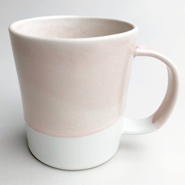 Image of 16oz mug, rose watercolor