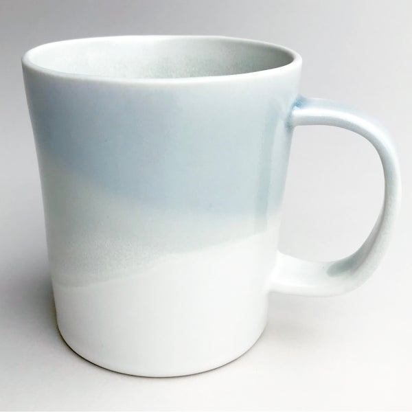 Image of 16oz mug, celadon watercolor