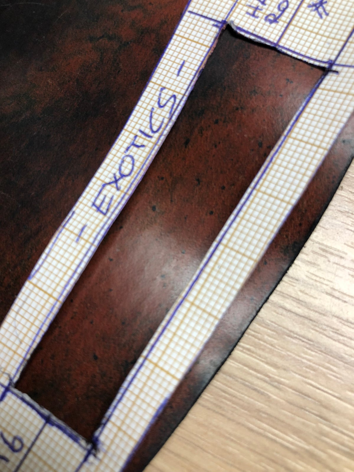 Image of Special custom order Joseph Fung -Marble Black Box stitch unlined