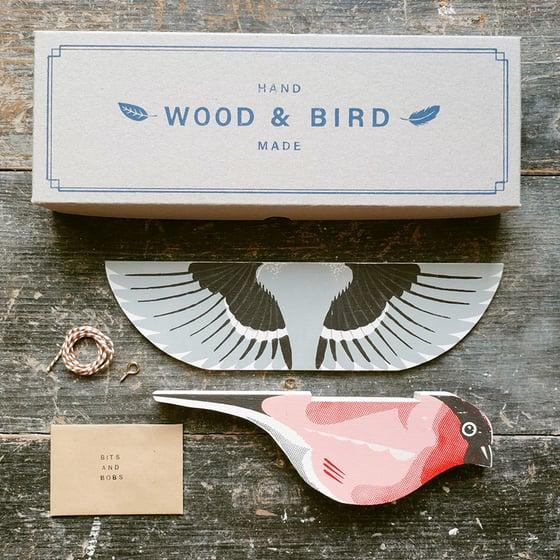 Image of Wood & Bird Bullfinch