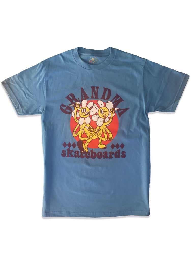 Image of Daisy Stabbers T-Shirt (Blue)