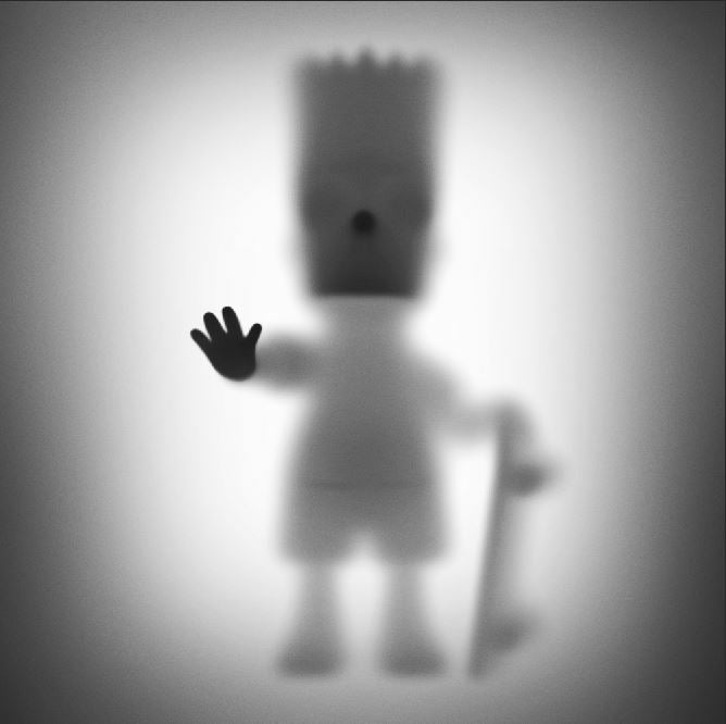 """Image of GONE """"BART""""- LIMITED EDITION PRINT 75- 35CM X 35CM"""