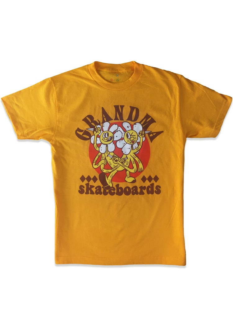 Image of Daisy Stabbers T-Shirt (Gold)