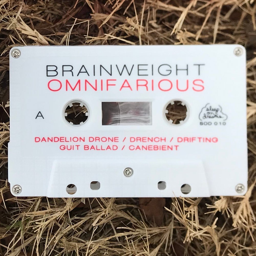 Image of BRAINWEIGHT - OMNIFARIOUS - Cassette w/ cd