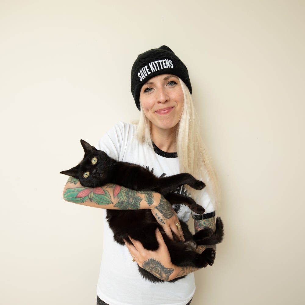 Image of Save Kittens Beanie