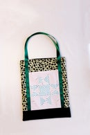 Image 2 of PATCHWORK TOTE BAG