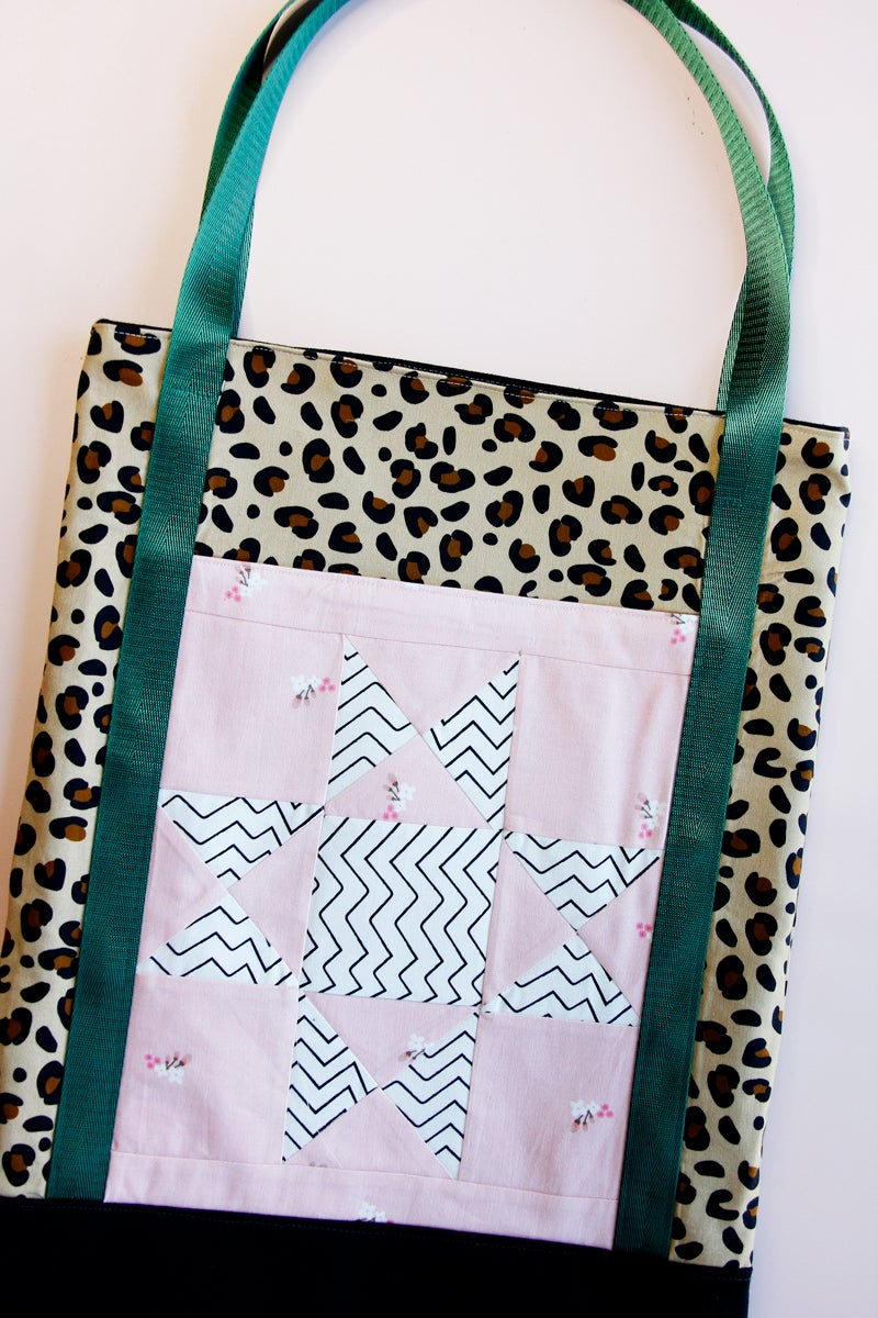 Image of PATCHWORK TOTE BAG