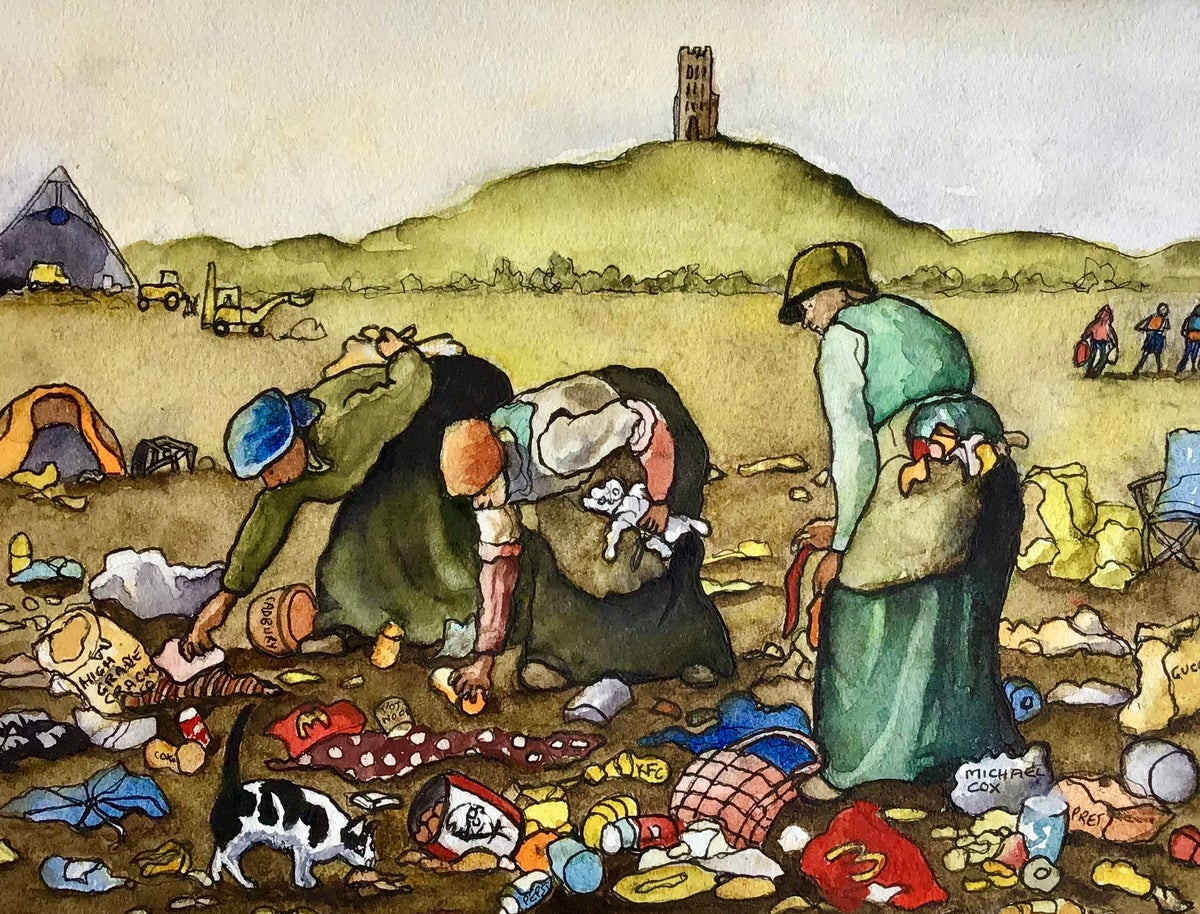 Image of 'The Great Glastonbury Glean Up!'