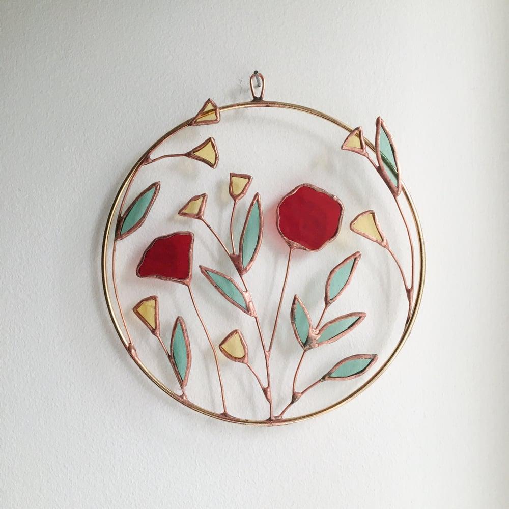 Image of Multi-Flower Wreath no.2